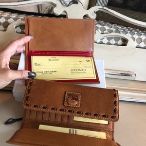 Dooney &Bourke Wallet &Checkbook